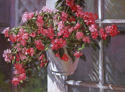 Painting - Garden House by L Diane Johnson