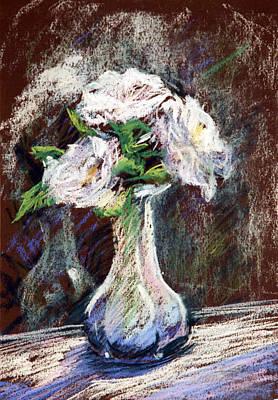 Garden Icebergs Pastel Art Print by Athena  Mantle