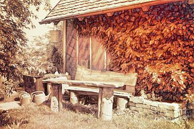 Photograph - Garden Idyll by Jutta Maria Pusl