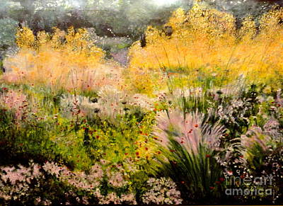 Painting - Garden In Northern Light by Dagmar Helbig