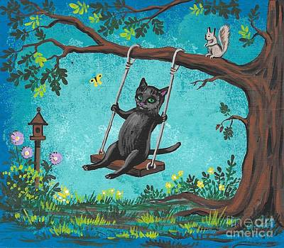 Painting - Garden Joy by Margaryta Yermolayeva