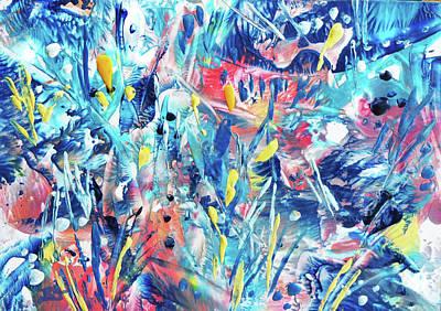 Painting - Garden Jungle by Jean Batzell Fitzgerald