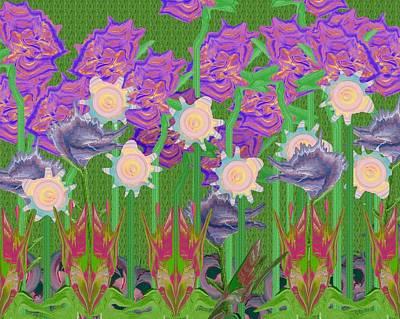 Painting - Garden by Lori Kingston