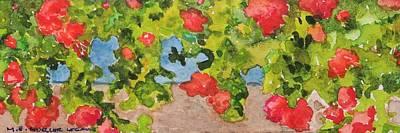 Painting - Garden by Mary Ellen Mueller Legault