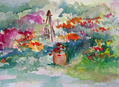 Painting - Garden Memories by Sandy Collier