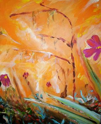 Painting - Garden Moment by Winsome Gunning
