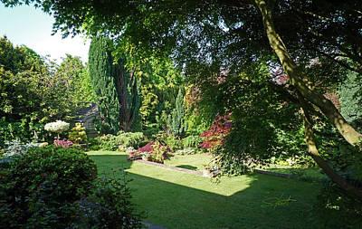 Japanese Photograph - Garden Morning by Charles Stuart