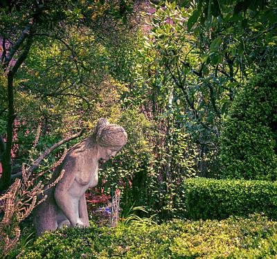 Photograph - Garden Nymph by Elaine Webster
