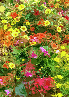 Painting - Garden Of Color by Josy Cue