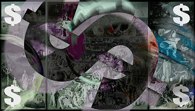 Photograph - Garden Of Earthly Delights by D A Metrov
