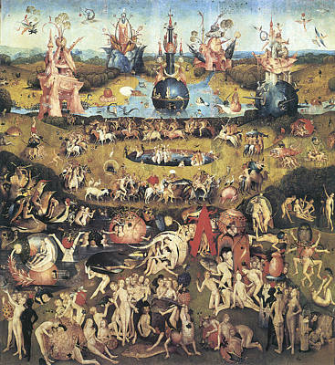 Garden Of Earthly Delights Art Print