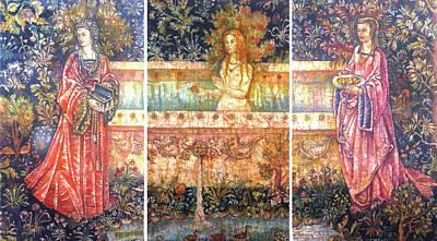 Garden Of Eden Art Print by Tanya Ilyakhova