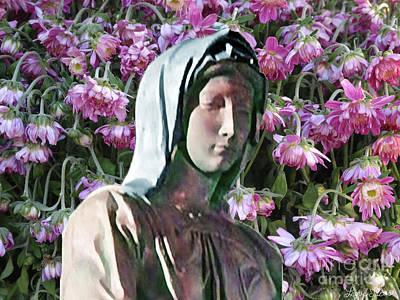 Digital Art - Garden Of Hope by Lyric Lucas