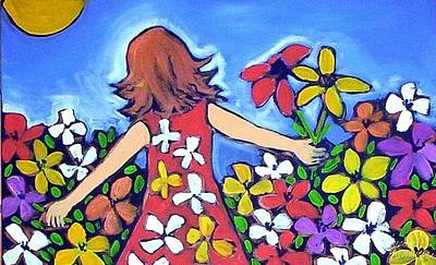 Painting - Garden Of Joy by Winsome Gunning