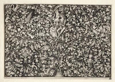 Drawing - Garden Of Love by Israhel van Meckenem