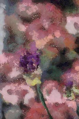 Mixed Media - Garden Of Love by Trish Tritz