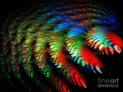 Digital Art - Garden Of Miracles by Michal Dunaj