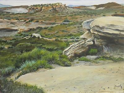 Painting - Garden Of Stone by William Brody