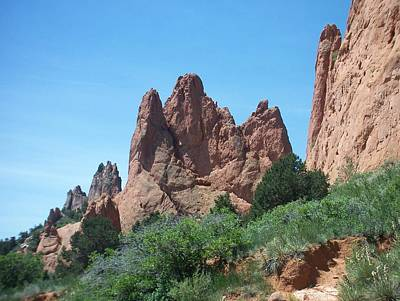 Photograph - Garden Of The Gods 2 by Anita Burgermeister