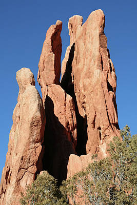 Photograph - Garden Of The Gods 3 by Ania M Milo