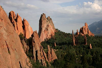 Photograph - Garden Of The Gods 7 by David Dunham