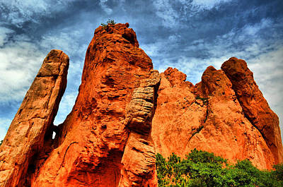 Photograph - Garden Of The Gods 9 by Emily Stauring