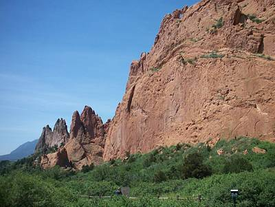 Photograph - Garden Of The Gods by Anita Burgermeister