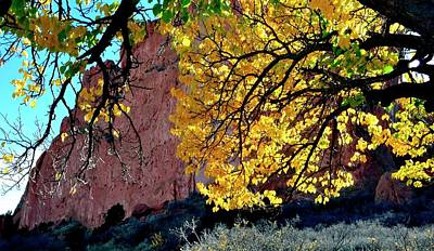 Photograph - Garden Of The Gods Autumn by Jerry Sodorff