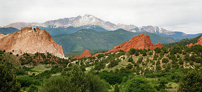 Photograph - Garden Of The Gods Back Range by Marilyn Hunt