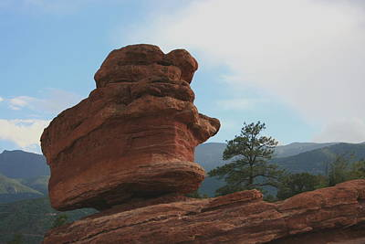 Photograph - Garden Of The Gods Balancing Rock by David Dunham