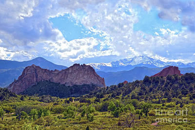 Photograph - Garden Of The Gods by Catherine Sherman