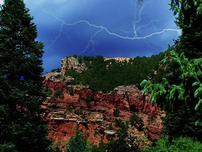 Digital Art - Garden Of The Gods by Chris Flees