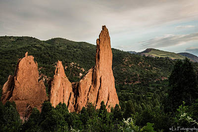 Photograph - Garden Of The Gods, Colorado 3 by Wendy Carrington