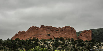 Photograph - Garden Of The Gods, Colorado 4 by Wendy Carrington