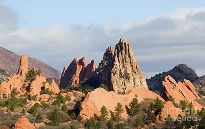 Photograph - Garden Of The Gods Colorado Springs by Steve Krull