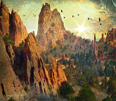 Photograph - Garden Of The Gods by George Tuffy