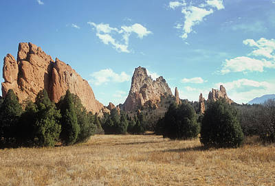 Photograph - Garden Of The Gods by John Brink