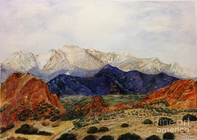 Painting - Garden Of The Gods by Madie Horne