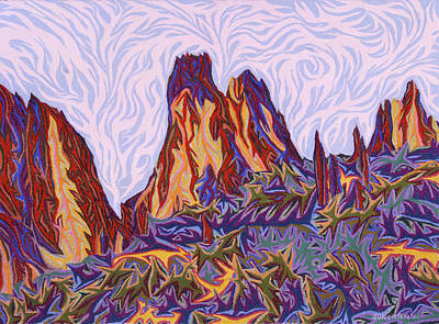 Painting - Garden Of The Gods by Robert SORENSEN