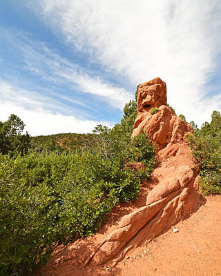 Photograph - Garden Of The Gods Rock Colorado Springs by Toby McGuire