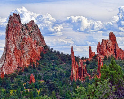 Photograph - Garden Of The Gods by Vickie Bushnell