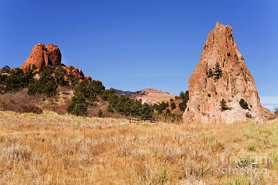Photograph - Garden of the Gods View by James Jones