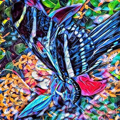 Digital Art - Garden One by David MCKINNEY