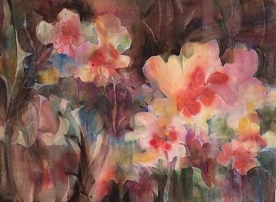 Painting - Garden Parade by Karen Ann Patton