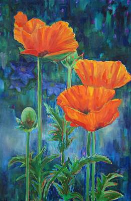 Painting - Garden Party by Billie Colson