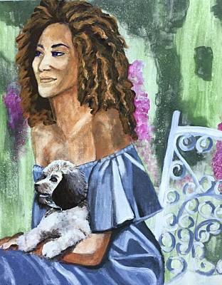 Painting - Garden Party by Cherylene Henderson