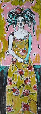 Figure Study Painting - Garden Party by Jane Spakowsky