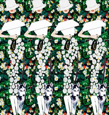 Tgif Digital Art - Garden Party by Joel Te Whare