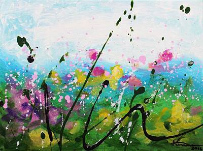 Painting - Garden Party by Kume Bryant