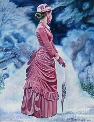 Painting - Garden Path by Heidi Parmelee-Pratt